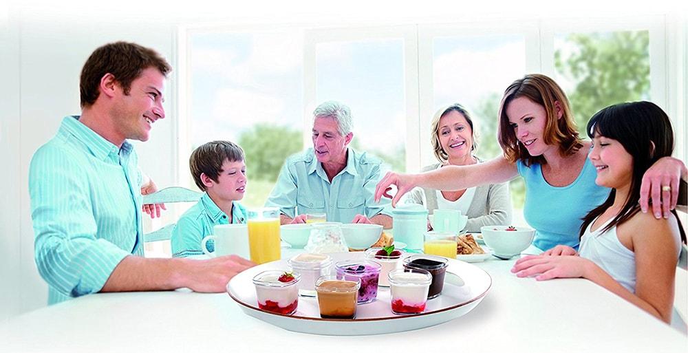 yaourtiere en famille