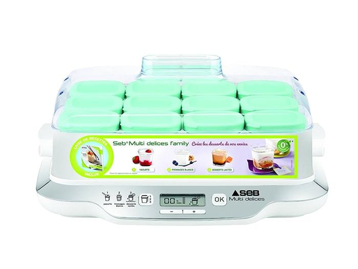 yaourtirre seb multi delice 12 pots